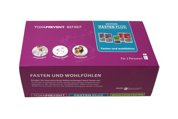 TOXAPREVENT Edition Fasten Plus - 2 Personen -