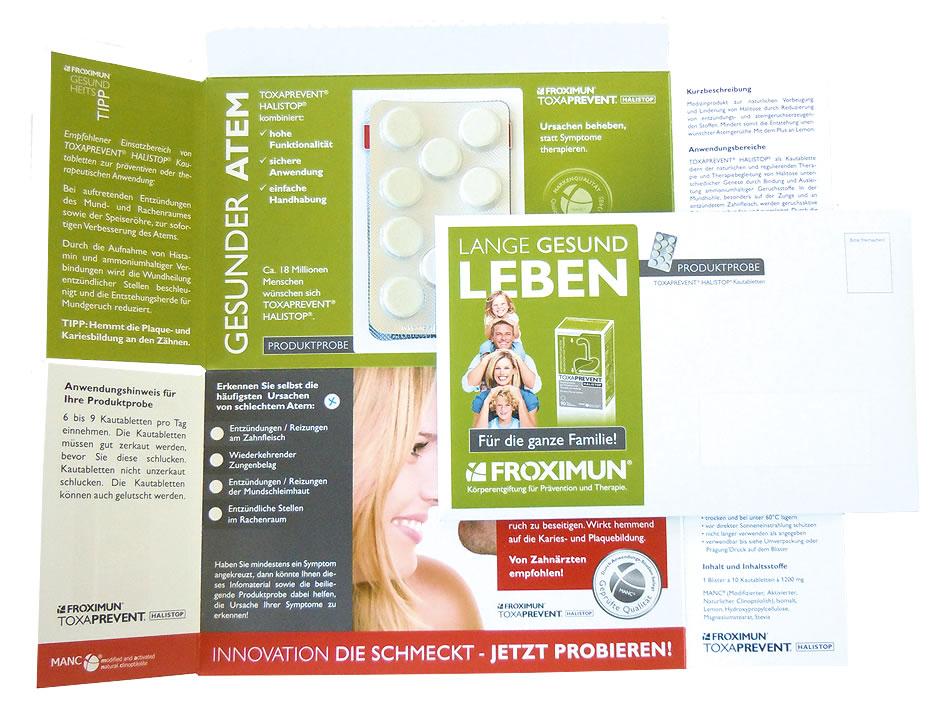 Probierpackung TOXAPREVENT® HALISTOP® Kautabletten, 10 Kautabletten