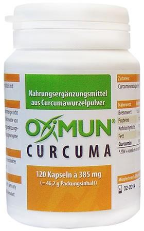 OXiMUN® Curcuma, 120 Kapseln